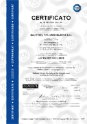 Certificates on ISO, OShas